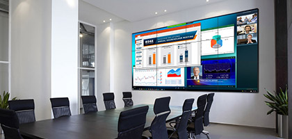 Video wall_conference