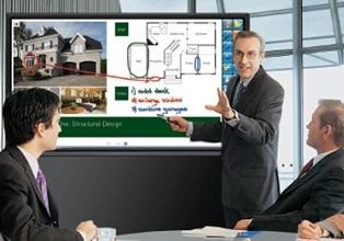 Interactive board room