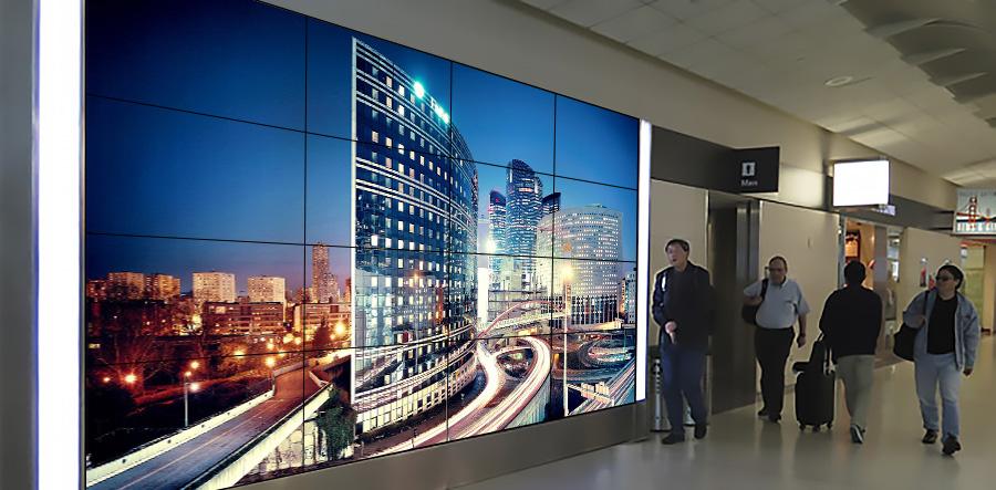 Samsung ] 4K (UHD) видеостена Samsung 4х4, дисплеи 46